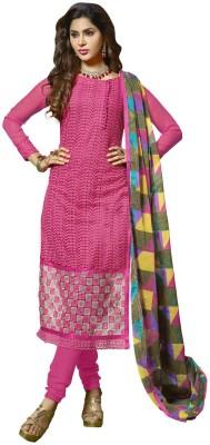Shrianukul Georgette Embroidered Salwar Suit Dupatta Material