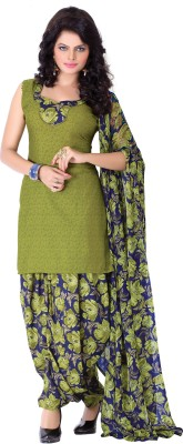 BanoRani Cotton Polyester Blend Printed Dress/Top Material