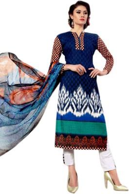 Sahej Suits Cotton Printed Salwar Suit Dupatta Material