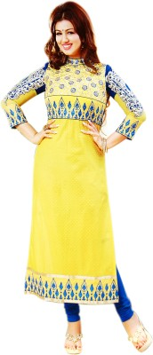 ADSF Cotton Embroidered Kurti Fabric