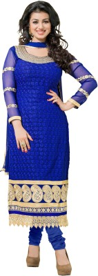 Aasvaa Georgette Embroidered Dress/Top Material