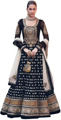 SalwarSaloon Net Embroidered Salwar Suit Dupatta Material