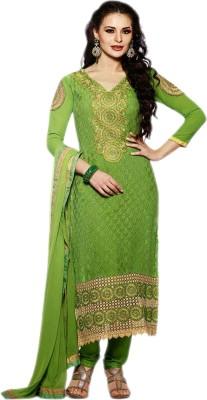 Manjaree Brasso Embroidered Salwar Suit Dupatta Material