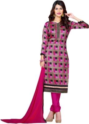 Prachi Silk Mills Silk Printed Salwar Suit Dupatta Material