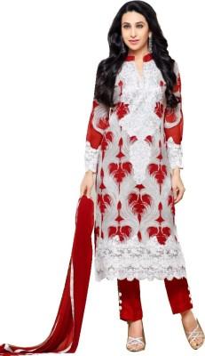 Manal boutique Cotton Self Design Salwar Suit Dupatta Material