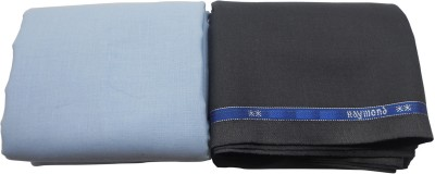 Raymond Home Cotton, Polyester Solid Shirt & Trouser Fabric