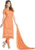 Suitevilla Cotton Self Design Salwar Sui...