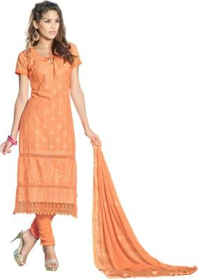 Suitevilla Cotton Self Design Salwar Suit Dupatta Material