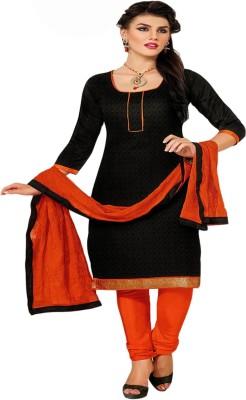 Manjaree Chanderi Solid Salwar Suit Dupatta Material