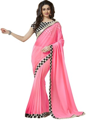 Fidubi Embriodered Fashion Georgette Sari