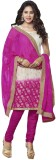 Navya Chanderi Embroidered Salwar Suit D...