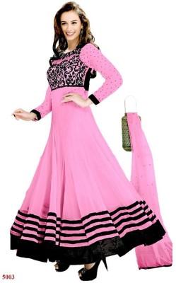 FabPandora Georgette Embroidered Salwar Suit Dupatta Material