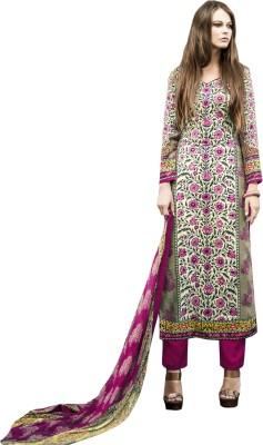 Ada Fabrics Wool Embroidered Salwar Suit Dupatta Material