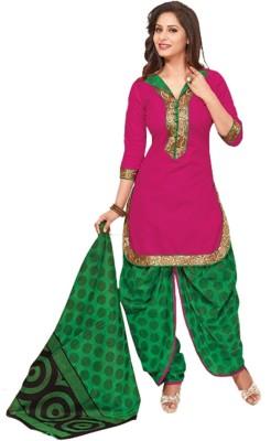 BANYAD Cotton Floral Print Salwar Suit Dupatta Material