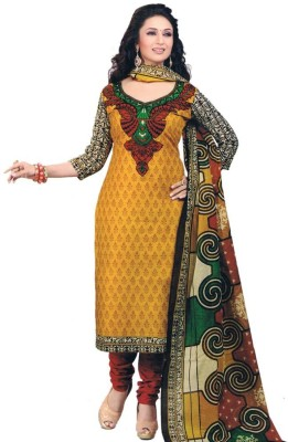 laazree Cotton Printed Dress/Top Material
