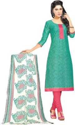 Banjaraindia Cotton Silk Blend Printed Salwar Suit Material