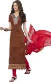 Admyrin Cotton Embroidered Dress/Top Mat...