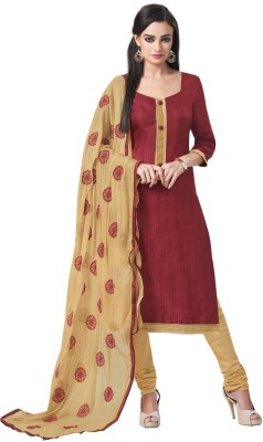 Diva Divine Cotton Silk Blend Solid Salwar Suit Dupatta Material