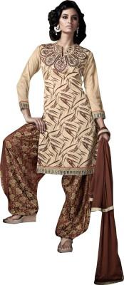 Lakshya Export Jacquard Embroidered Salwar Suit Dupatta Material