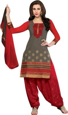 Vibes Cotton Self Design Salwar Suit Dupatta Material