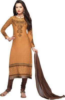 Vastrani Cotton Embroidered Semi-stitched Salwar Suit Dupatta Material at flipkart