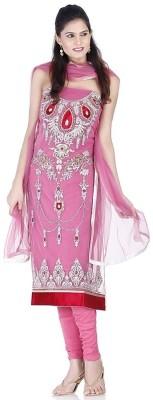Chhabra 555 Nylon Self Design Salwar Suit Dupatta Material