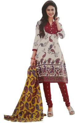 Rajhans Creation Cotton Printed Salwar Suit Material