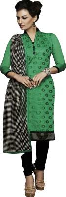 Melluha Chanderi Embroidered Salwar Suit Dupatta Material