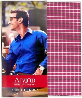 ARVIND Cotton Checkered Shirt Fabric