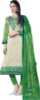 Shubh Style Emb Cotton Embroidered Salwar Suit Dupatta Material