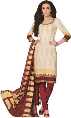 Flamboyance Cotton Printed Salwar Suit Dupatta Material