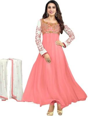 Shri Hans Georgette Self Design Salwar Suit Dupatta Material