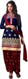 Whatshop Cotton Embroidered Salwar Suit ...
