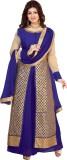 KrishnaFashion321 Net Embroidered Semi-s...
