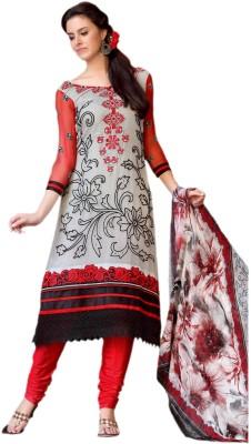 Hypnotex Georgette Solid Salwar Suit Dupatta Material