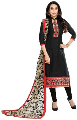 Loot Lo Creation Cotton Embroidered Salwar Suit Dupatta Material