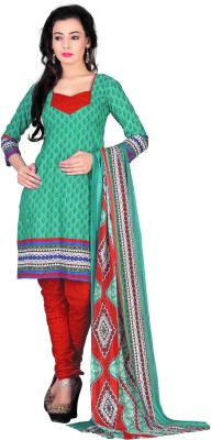 Merry Fashion Crepe Floral Print Salwar Suit Dupatta Material