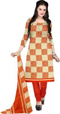 Shopeezo Chiffon Floral Print Salwar Suit Dupatta Material
