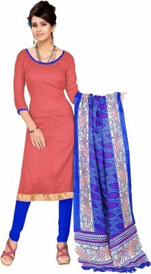 Fabgruh Silk Printed Salwar Suit Dupatta Material