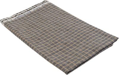 Boalamo Linen Checkered Multi-purpose Fabric