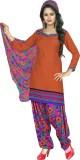 Shopeezo Crepe Checkered Salwar Suit Dup...