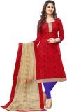Ganga Fashion Cotton Embroidered Salwar ...
