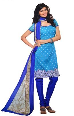 LT Cotton, Silk Self Design Semi-stitched Salwar Suit Dupatta Material