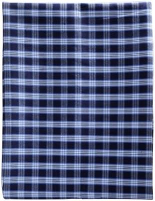 black & white Chiffon Checkered Shirt Fabric