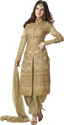 Luxuria Georgette Embroidered Salwar Suit Dupatta Material