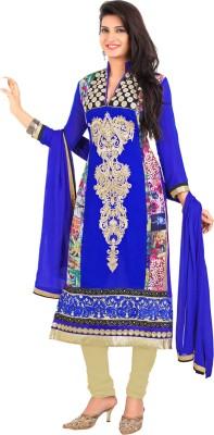 Value Added Fashion Georgette Self Design Salwar Suit Dupatta Material
