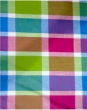 Squared Multicolor Checks Cotton Checker...