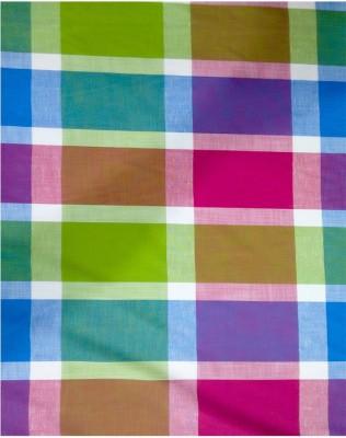 Squared Multicolor Checks Cotton Checkered Shirt Fabric