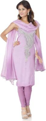 Chhabra 555 Georgette Self Design Salwar Suit Dupatta Material