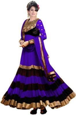 PRN Georgette Self Design Semi-stitched Salwar Suit Dupatta Material